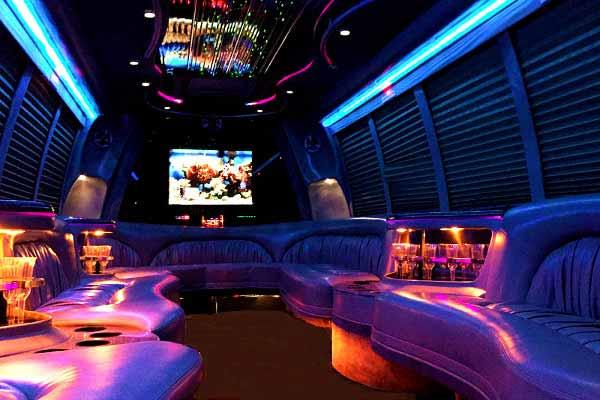 18 passenger party bus rental mcallen