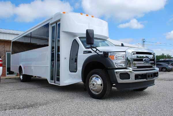 22 Passenger party bus rental mcallen