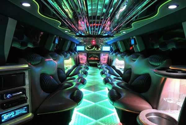 Hummer limo interior mcallen
