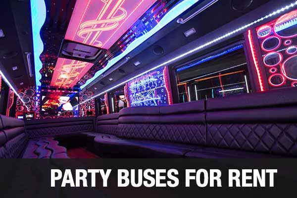 airport transportation party bus mcallen