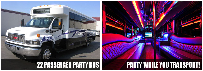 wedding transportation party bus rentals mcallen