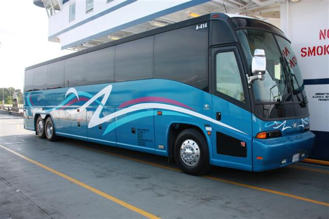 Mcallen 50 Passenger Charter Bus